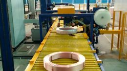 copper tube packing system